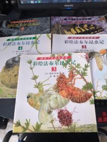 熊田千佳慕的世界·彩绘法布尔昆虫记(全5册)