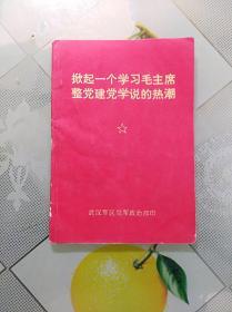 掀起一个学习毛主席整党建党学说的热潮(64开,有林副主席指示)