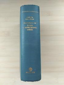 西班牙语原版书 Diccionario de ideas y expresiones afines 相关思想和表达辞典