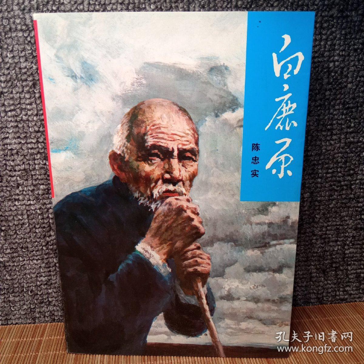 白鹿原(正版未删减版,1993年一版三印,库存,品新干净)