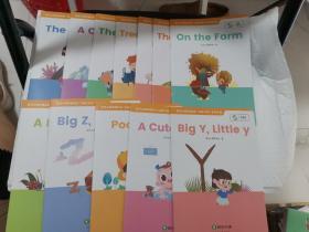 斑马Al课英语绘本(12册合售)