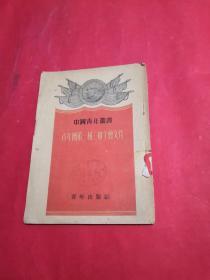 中国青年丛书:青年团第一届三中全会文件【竖版】