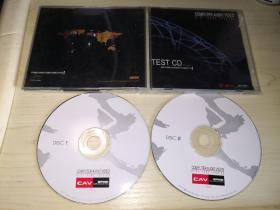 正版2CD  丽声音像CAV试音碟24K金藏集HIFI TESTCD Ver4.2