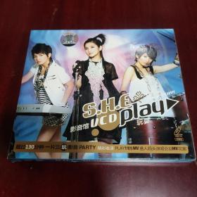 SHE—PLAY MV+PLAY庆功演唱会—正版VCD双碟装(店铺)