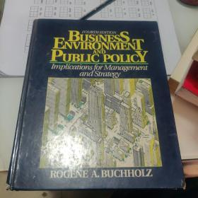 Business Environment And Public Policy