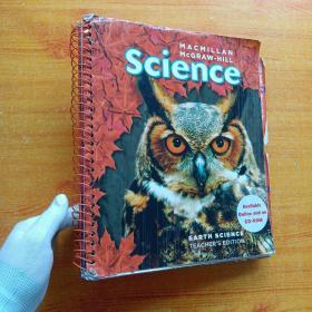 MACMILLAN McGRAW-HILL  Science  大16开 【书内没有字迹和划线】