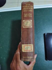 外文版,《時尚的世界》1837一1922,內容是社會與大戰,