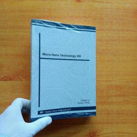 Micro-Nano Technology  XIII【未拆封】