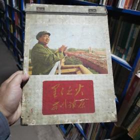 自由夹一个(图案为毛主席在天安门城楼接见红卫兵)