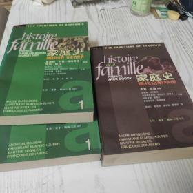 家庭史 第一卷:遥远的世界 古老的世界(上下册)第二卷:现代化的冲击 全三册合售