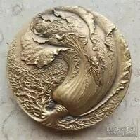 葫芦白菜大铜章