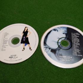 韩宝仪 VCD  两碟  裸盘