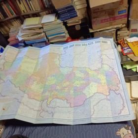 西藏自治区地图  大幅