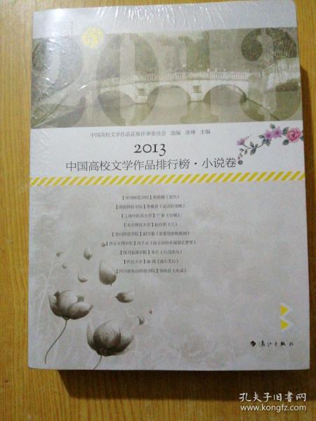 2013高校文学排行榜·小说卷(上下)