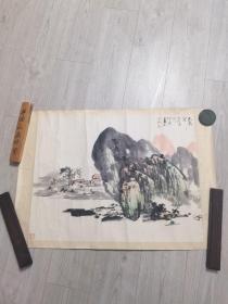 上海书法家协会会员 舒伯展 画