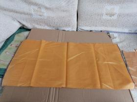清代丝绸织品,浅色绸缎,39/29cm。可做衣物修复,古籍包角