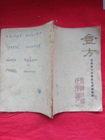 金方_甘肃省十年建设成就展览馆