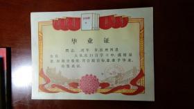 毕业证(毛泽东三卷三面红旗图)