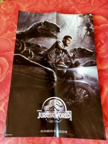 电影海报(侏罗纪世界+超能查派)