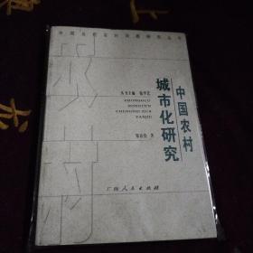 中国农村城市化研究
