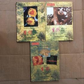 90九十年代九年义务教育三年制初级中学教科书初中生物课本全套