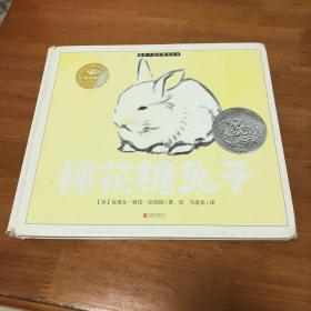 棉花糖兔子。四个书角都有磨损
