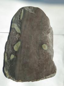端砚砚板,有石眼、鱼脑冻,石质温润,端砚天下闻名,砚材珍稀。