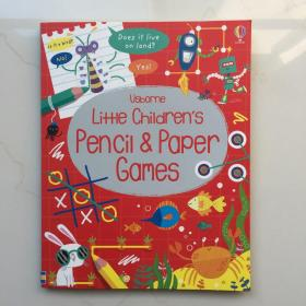 Little Children's Pencil and Paper Games Usborne  儿童铅笔纸游戏