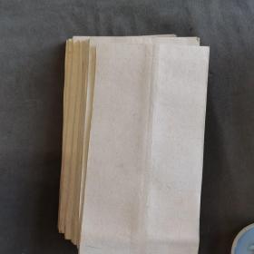 清代宣纸加衬空白老信封 29件