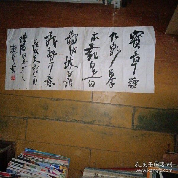 芜湖市书法家协会副主席、(赵泾生)书法软片