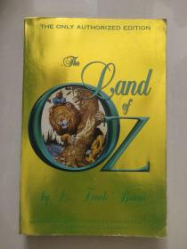 The Land of Oz (The only authorized edition)  英文原版 插图本 小16K