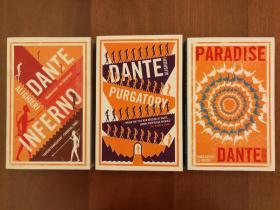 The Divine Comedy: Inferno, Purgatory, Paradise(三部合售,实拍书影)