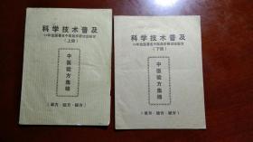 中医验方集锦上下册(98年全国著名中医赴京研讨会秘方)
