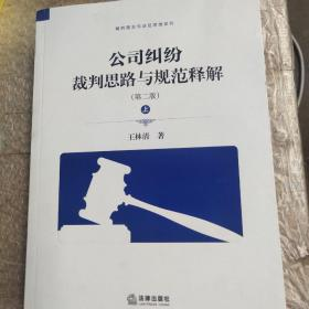 公司纠纷裁判思路与规范释解(第二版 套装上下册)