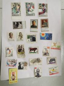 老邮票一堆