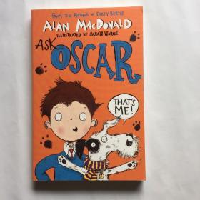 Ask Oscar 问问奥斯卡 英文原版儿童读物 脏男孩波迪Dirty Bertie同作者Alan MacDonald 儿童英语课外阅读趣味小说童书