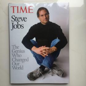 英文原版  Time Steve Jobs:The Genius Who Changed Our World