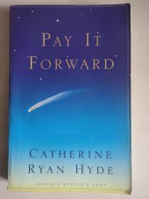 Pay It Forward  (Advacned reader's copy) 英文原版<把爱传下去> 瑞恩海德电影原著小说