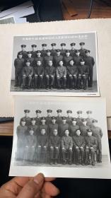 交通部外轮监督和引水人员英语训练班第四期1977年摄,2张,一张有底衬