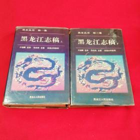 黑水丛书:黑龙江志稿(上下) 精装  1992年一版一印仅印2000册