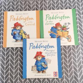 Paddington:at the Carnival、the original story of the bear fromperu、in the garden