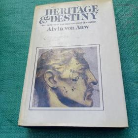 英文原版 Heritage & destiny: Reflections on the Bell System in transition by Alvin Von Auw 大精装
