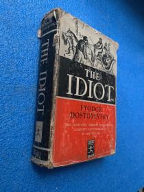 (1935年初版)the idiot( 布面精装)32开 大量版画插图