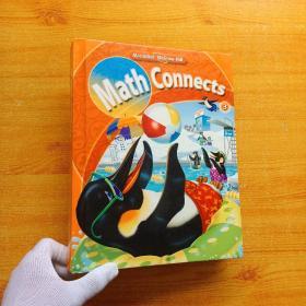 MACMILLAN McGRAW-HILL  Math Connects  3  大16开 精装【内页干净】