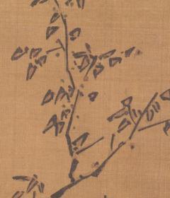 明 石锐 朱买臣探花图轴纸本大小83.3*136.87厘米。宣纸艺术微喷复制。260元包邮