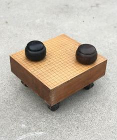 民国时期围棋一套 全品围棋盒无裂无修