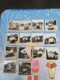 广州老照片  1979年五一劳动节广州起义烈士陵园照片14张