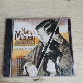 【唱片 】 米尔斯坦演奏小提琴小品集  CD1碟