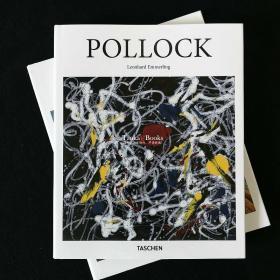 正版现货 Pollock 波洛克 抽象表现主义绘画艺术画册taschen