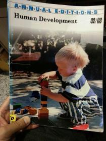 【英文原版】Human Development 人类发展02/03 Thirtieth Edition